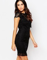 Jessica Wright Lucinda Lace Overlay Dress