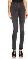 Acne Studios Pin Cotton-Blend High Waisted Skinny