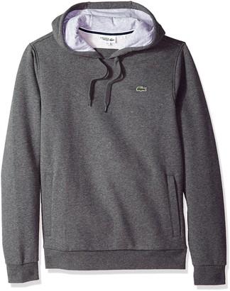 Lacoste Men's Pull Over Hoodie Fleece Sweatshirt Sh2128