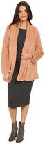 Kenneth Cole New York Faux Fur Oversized Blazer Coat