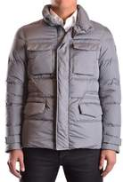 Geospirit Men's Grey Polyamide Down Jacket.