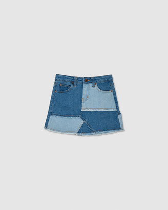Gelati Jeans Molly Patchwork Denim Skirt