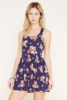 Forever 21 FOREVER 21+ Floral Knotted-Back Dress