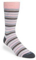 Lorenzo Uomo Men's Stripe Socks