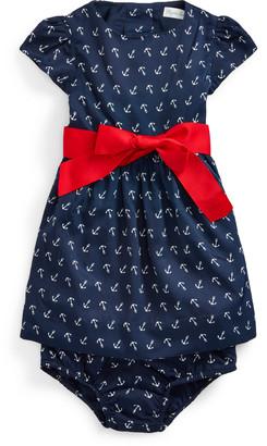 Ralph Lauren Anchor-Print Dress & Bloomer