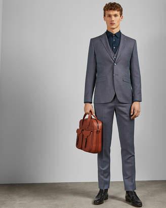 Ted Baker BEKDEBJ Debonair birdseye wool suit jacket