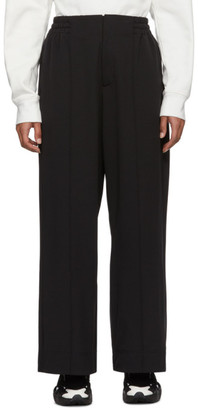 Y-3 Black Classic Wide Lounge Pants