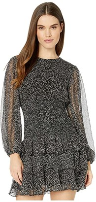 Bardot Elaina Mini Dress (Speckle) Women's Clothing