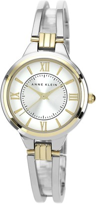 Anne Klein Women's Two-Tone Bangle Watch