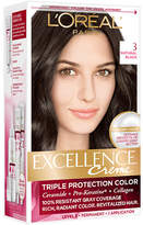 L'Oreal Excellence Triple Protection Permanent Hair Color Creme Natural Black 3