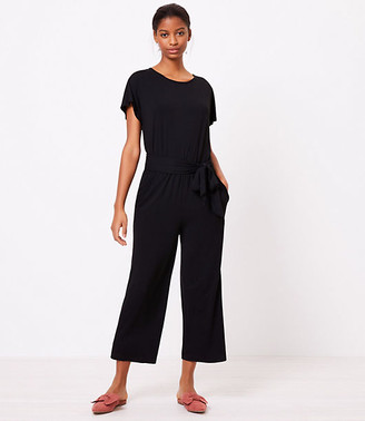 LOFT Beach Tie Back Dolman Jumpsuit