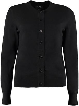 A.P.C. Ninh Cotton-cashmere Blend Cardigan