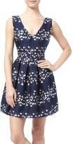 Ark & Co Jacquard Pleated Dress