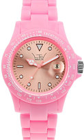 Ltd Pink Plastic Watch