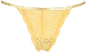Underprotection Lvr Sustainable Lisa Lace Thong Briefs