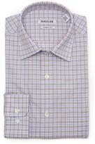 Haggar Men's Motion Ease Collar Regular-Fit Stretch Dress Shirt