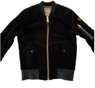Schott Navy Velvet Leather jackets