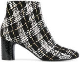 Casadei tweed Daytime ankle boots