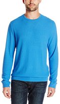 Kenneth Cole New York Kenneth Cole Men's Long Sleeve Pique Crew