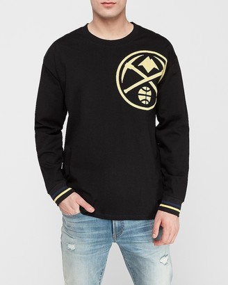 Express Denver Nuggets Nba Long Sleeve Heavyweight T-Shirt