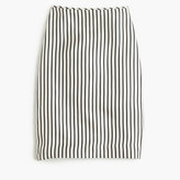 J.Crew Collection silk striped slip skirt