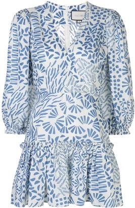 Alexis Idony abstract-print dress