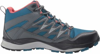Columbia Women's WAYFINDER MID Outdry High Rise Hiking Boots Blue (Lagoon Coral) 7.5 UK 40.5 EU