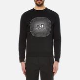 Mcq Alexander Mcqueen Clean Crew Neck Sweatshirt Darkest Black