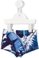 Dolce & Gabbana tropical print swim trunk