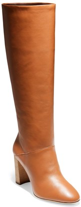 Cole Haan Glenda Leather Knee High Boot