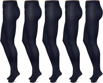 FM London Women's Strumpfhose 40 Denier (Pack of 5) Tights