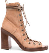 Ann Demeulemeester Suede Lace Up Heels