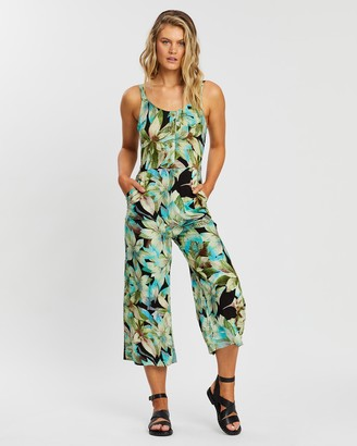 KAJA Clothing - Women's Green Jumpsuits - Zulu Jumpsuit - Size One Size, XS at The Iconic