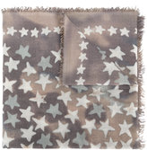 Hemisphere star print scarf