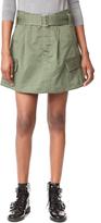Marc Jacobs Belted Cargo Pocket Skirt