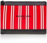 Balenciaga Striped Clutch