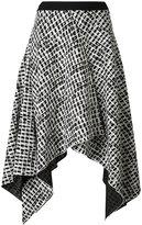 Proenza Schouler asymmetric patterned skirt