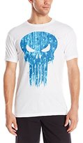Marvel Men's Punisher with Stars Short Sleeve Graphic T-Shirt