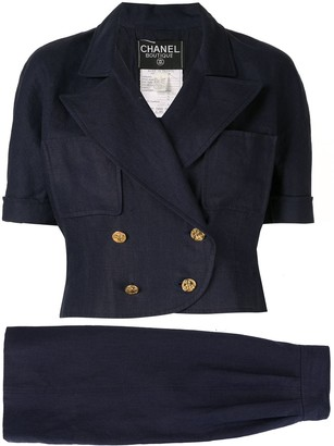 Chanel Pre Owned Setup two-piece suit
