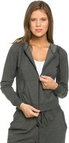 SOHO GLAM Classic Zip Up Jogger Hoodie in Charcoal