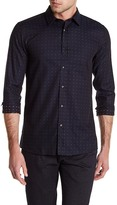 HUGO BOSS Elisha Slim Fit Pattern Shirt