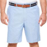 Izod Oxford Flat-Front Shorts - Big & Tall