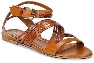 HUGO BOSS 50262270 women's Sandals in Brown