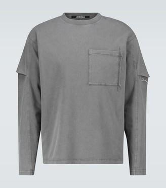 Jacquemus Le T-shirt Manches Longues top