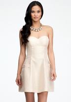Bebe Strapless Dome Pocket Dress