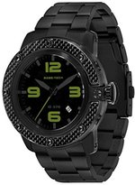 Glam Rock Men's GR33006 SoBe Black Dial Black Ion-Plated Stainless Steel Watch