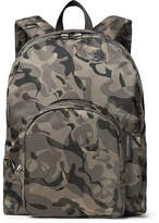 Alexander McQueen Camouflage-Print Nylon Backpack