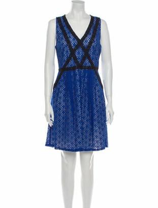Marc by Marc Jacobs Printed Mini Dress w/ Tags Blue