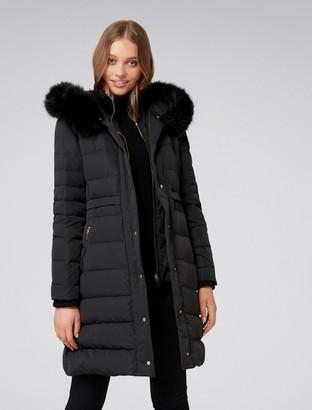 Forever New Molly Puffa Coat - Black - 4