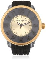 Tendence Flash Led Black & Gold Watch